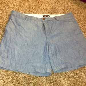 Banana Republic Chambray Shorts
